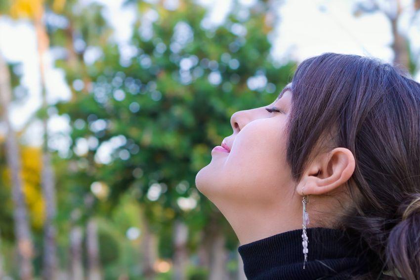 Importancia de respirar por la nariz